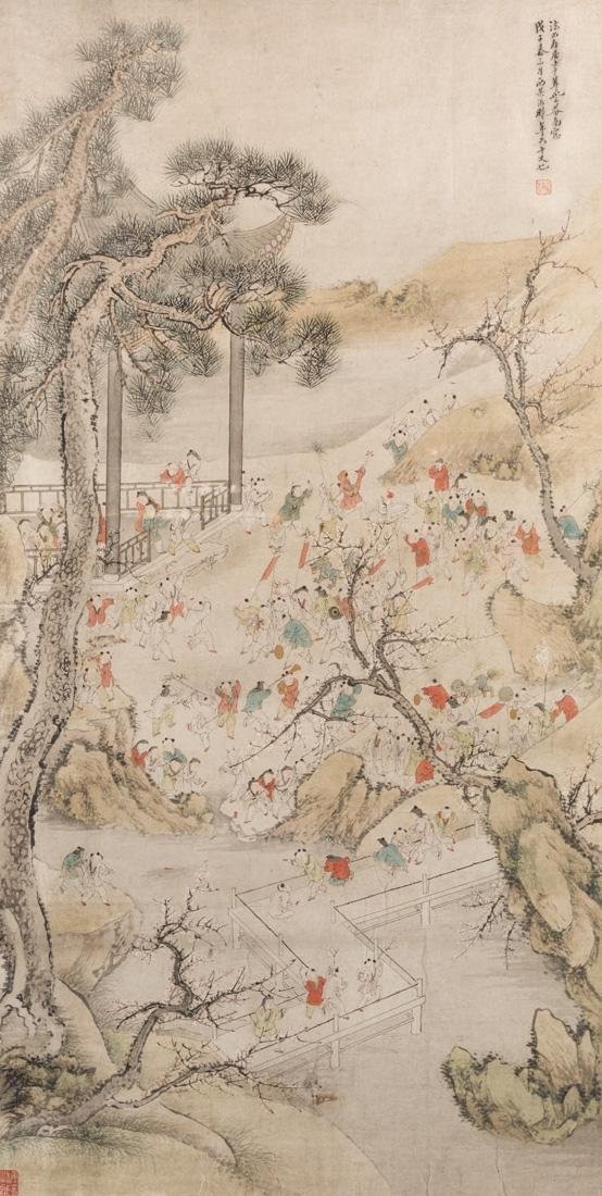 GU LUO (CHINESE 1763-1837)