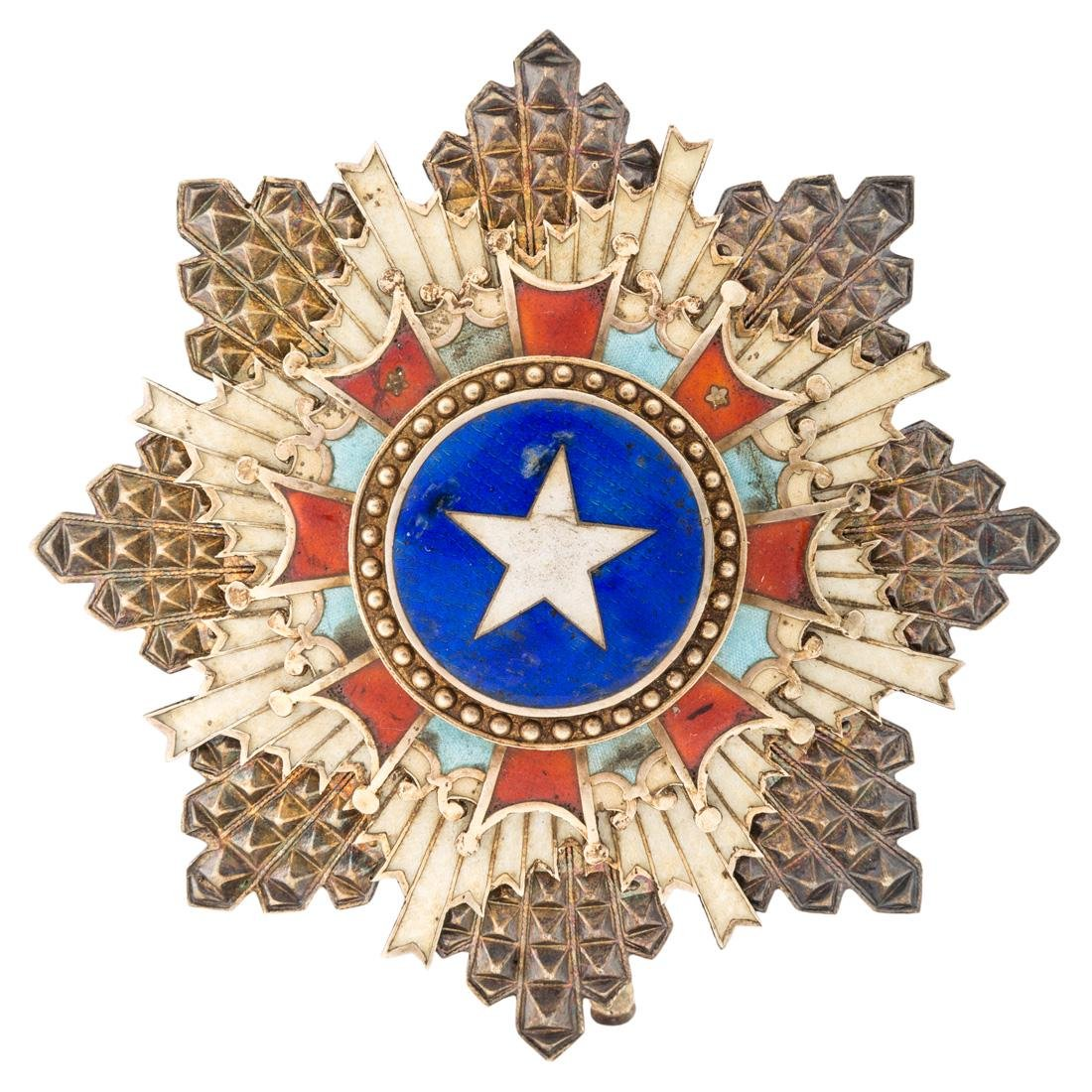 A CHINESE ORDER OF THE BRILLIANT STAR, 2ND CLASS