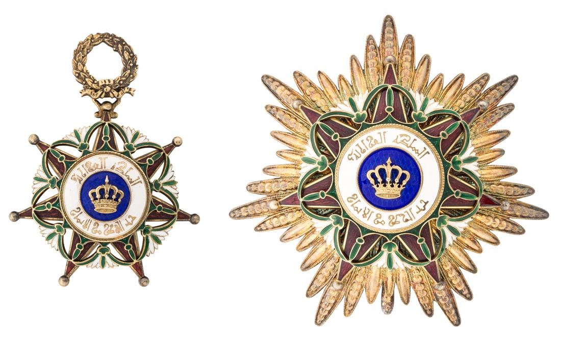 A GRAND CROSS SET OF THE IRAQI ORDER OF THE TWO RIVERS