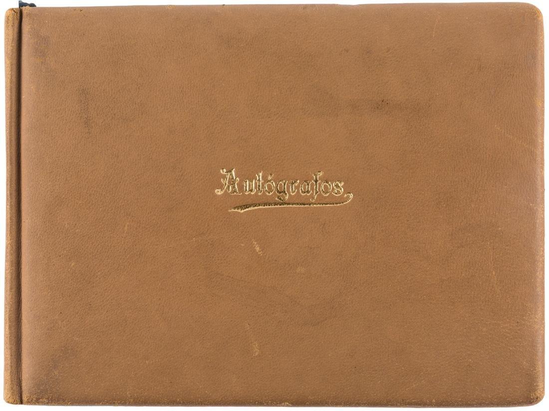 PERSONAL AUTOGRAPH BOOK OF AMBASSADOR HU SHI XI,