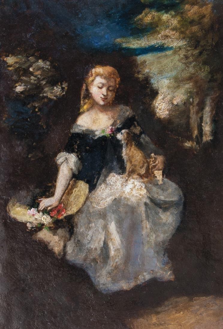 NARCISSE VIRGILE DIAZ DE LA PENA (FRENCH 1807-1876)
