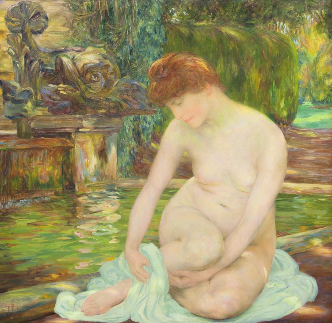 CLEMENTINE HELENE DUFAU (FRENCH 1869-1937)