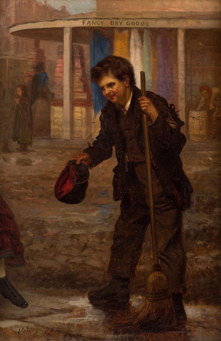 JOHN GEORGE BROWN (AMERICAN 1831-1913)