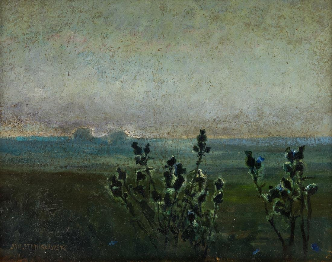 JAN STANISLAWSKI (POLISH 1860-1907)