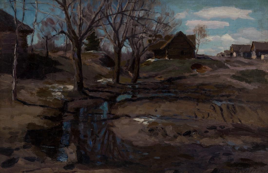 STANISLAV ZHUKOVSKY (POLISH-RUSSIAN 1872-1944)