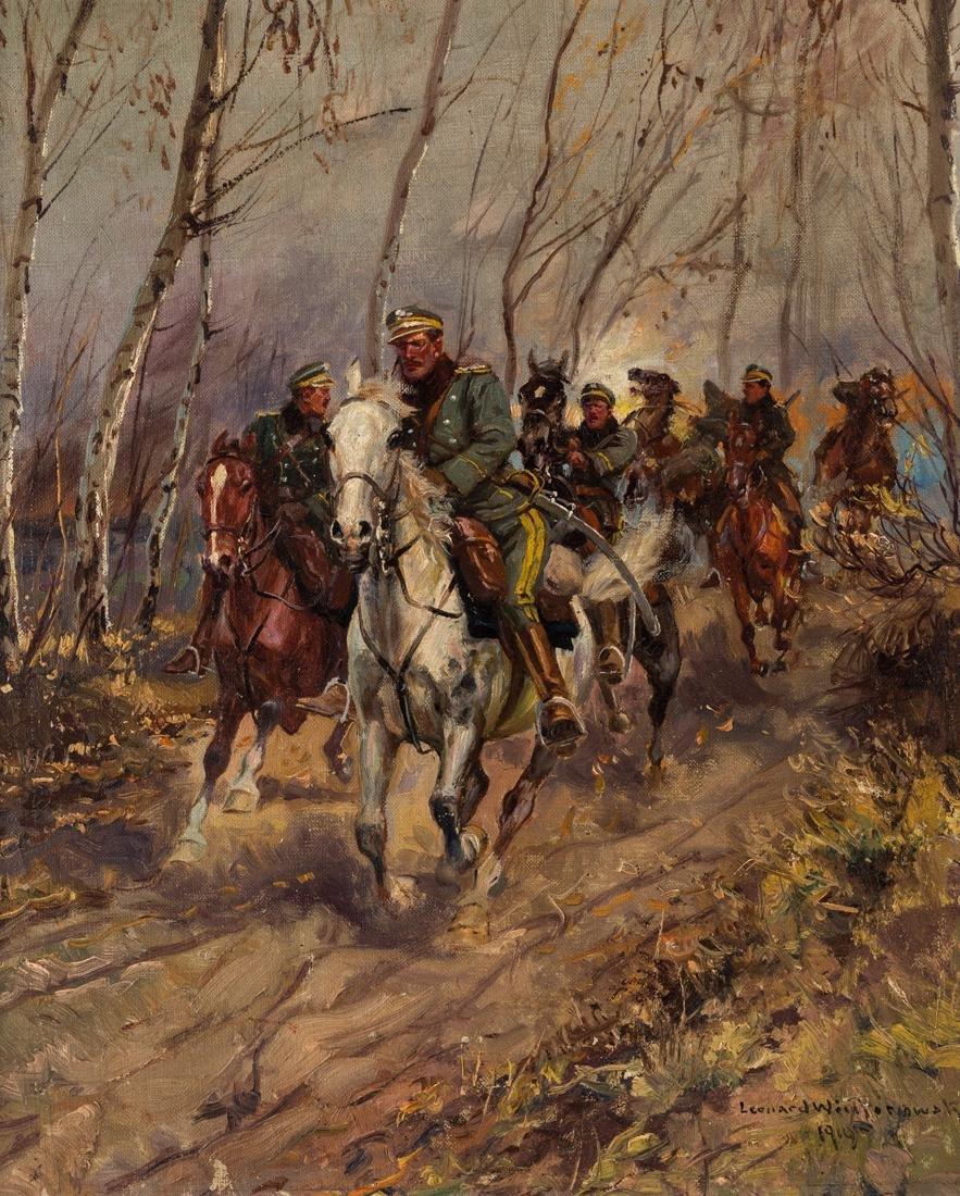 LEONARD WINTEROWSKI (POLISH 1868 - 1927)