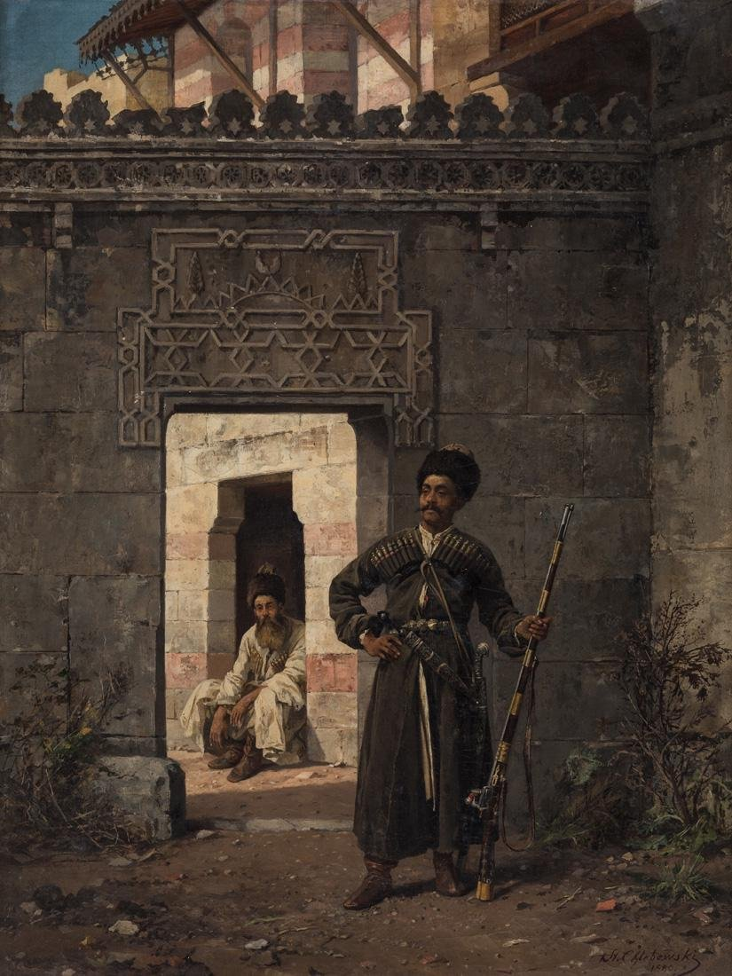 STANISLAW CHLEBOWSKI (POLISH 1835-1884)
