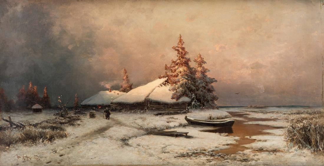 YULIY KLEVER (RUSSIAN 1850-1924)