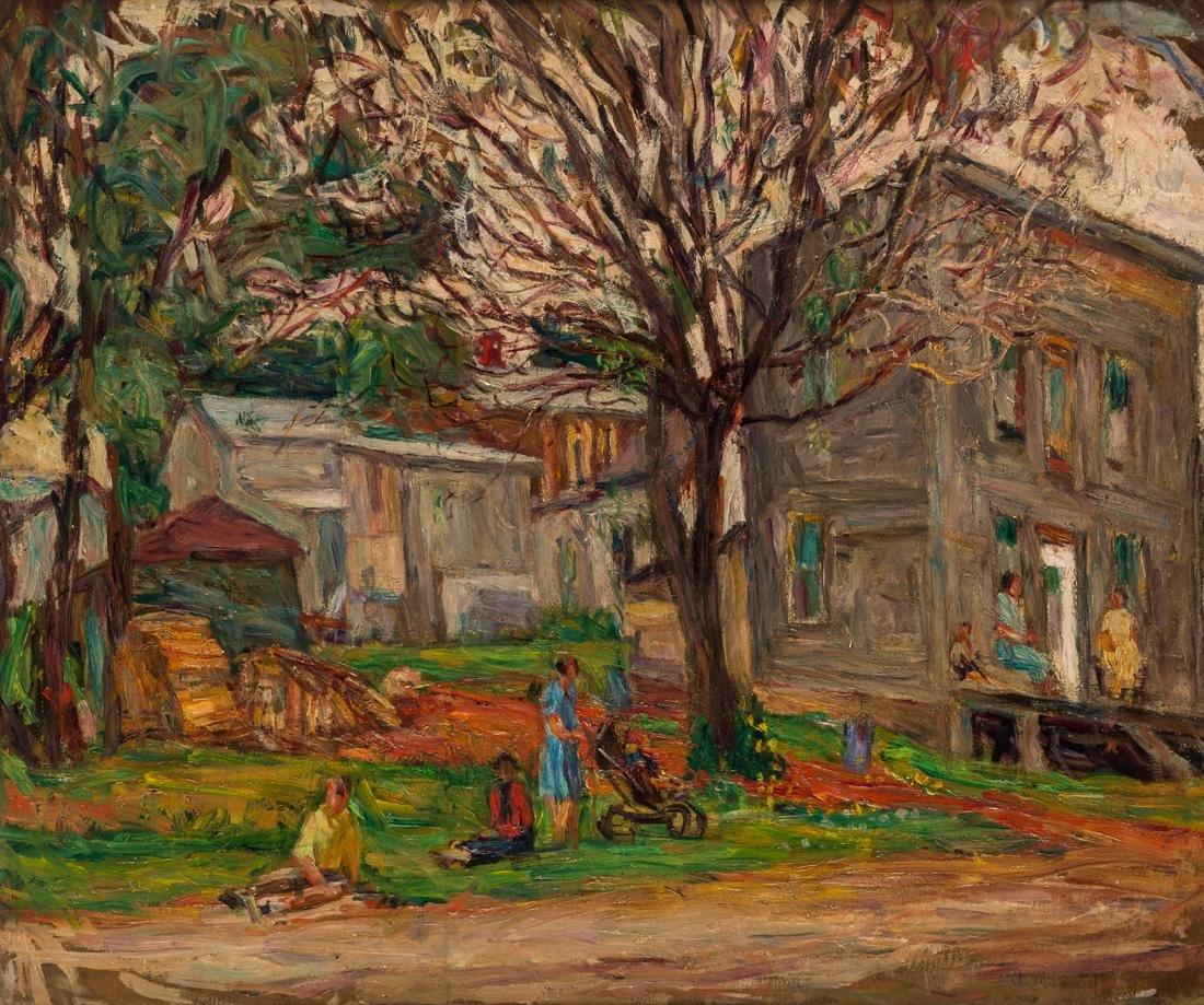 ABRAHAM MANIEVICH (RUSSIAN 1883-1942)