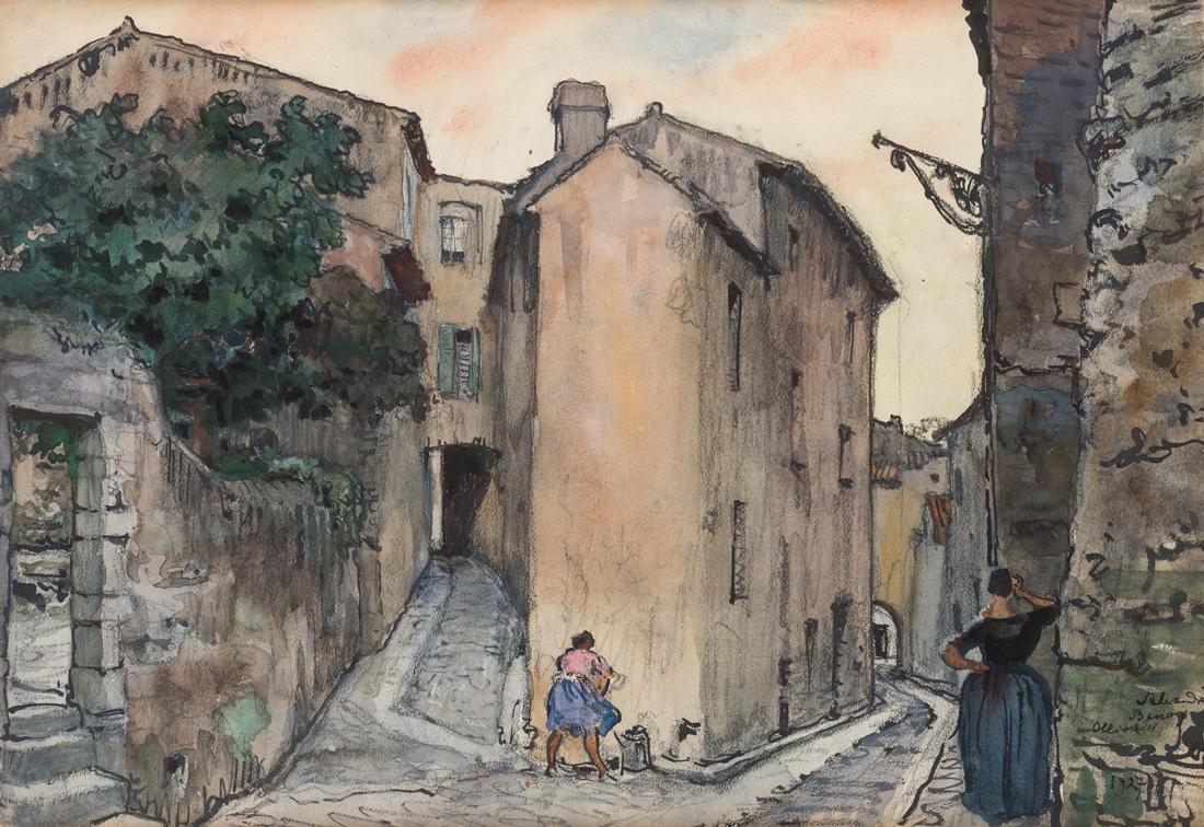 ALEXANDRE BENOIS (RUSSIAN 1870-1960)