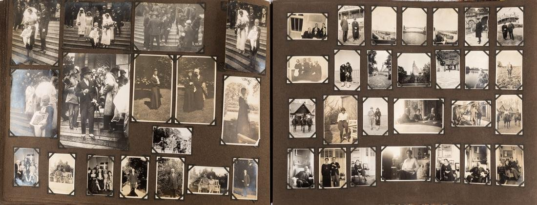 PHOTO ALBUM WITH APPROXIMATELY 1,700 PHOTOGRAPHS