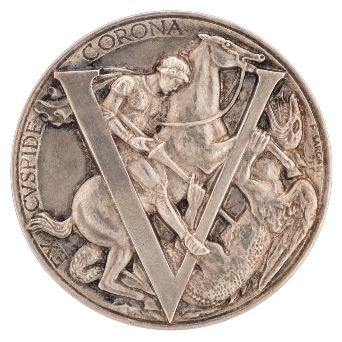 AN ENGLISH ST. GEORGE GREAT WAR VICTORY MEDAL BY