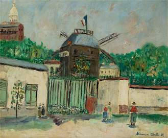 MAURICE UTRILLO (FRENCH 1883-1955)