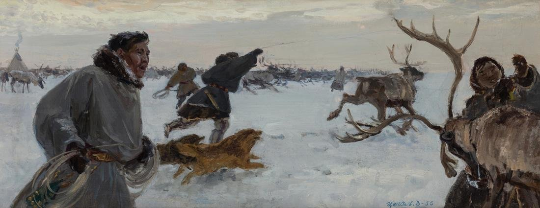 VICTOR EFIMOVICH TSIGAL (RUSSIAN 1916-2005)