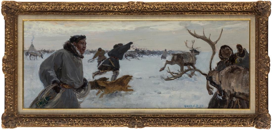 VICTOR EFIMOVICH TSIGAL (RUSSIAN 1916-2005) - 2