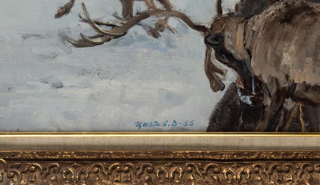 VICTOR EFIMOVICH TSIGAL (RUSSIAN 1916-2005) - 3