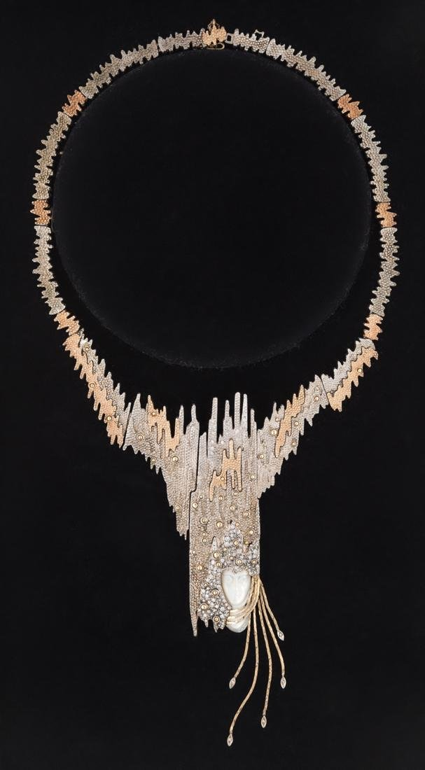 """AN ERTE LIMITED EDITION NECKLACE, """"SOPHISTICATION"""""""