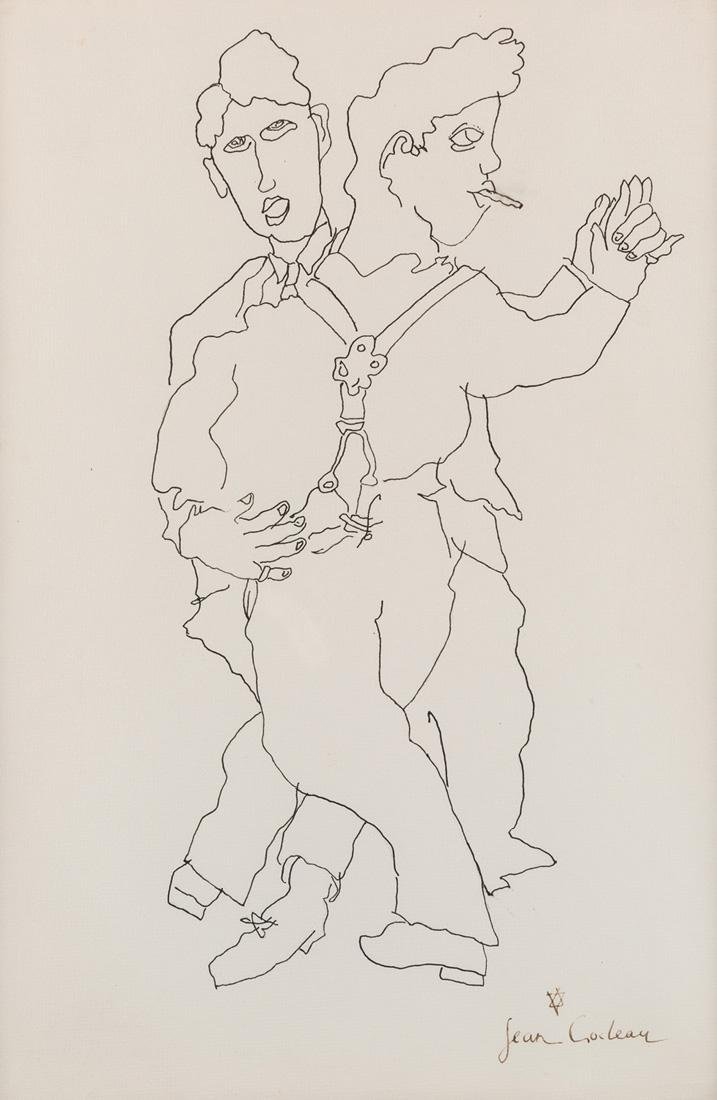 JEAN COCTEAU (FRENCH 1889-1963)