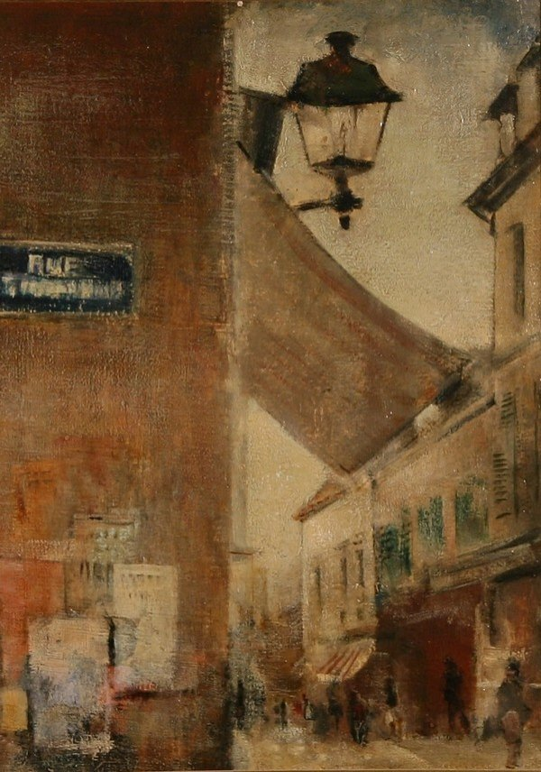 20: GRIGORY GLUCKMANN B1898 Russian Oil Painting Paris