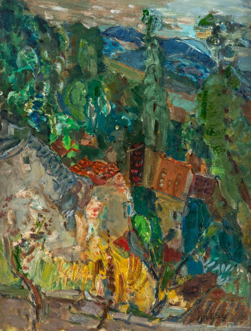 CHAIM SOUTINE (RUSSIAN-FRENCH 1893-1943)