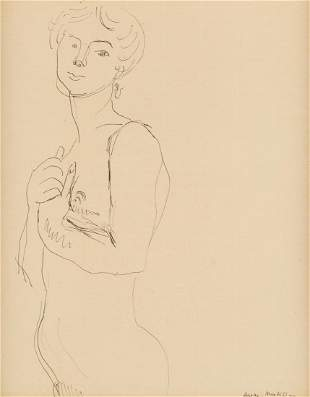 HENRI MATISSE (FRENCH 1869-1954)