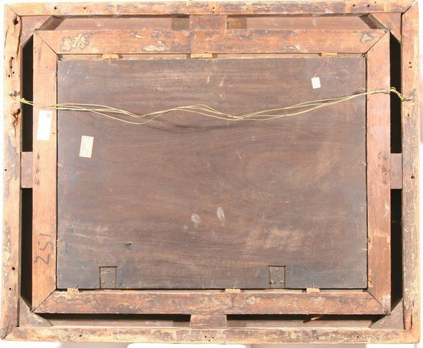 13: HENRY ANDREWS B1794 Antique British Oil Painting - 4
