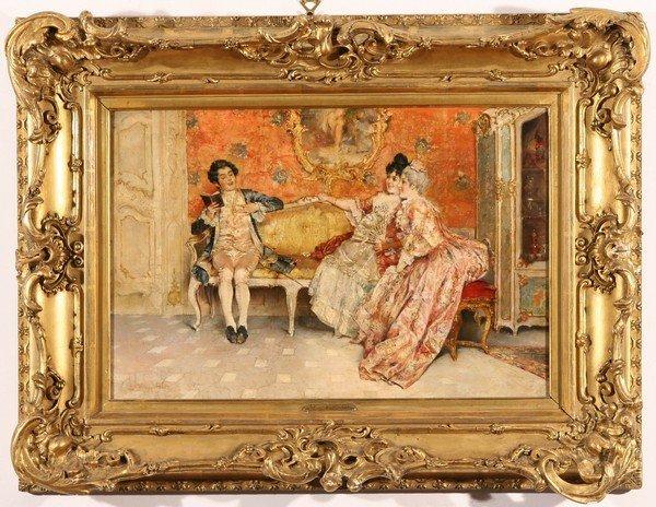 20: LEOPOLD SCHMUTZLER Austrian Antique Oil Painting - 2