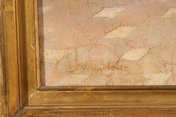 20: LEOPOLD SCHMUTZLER Austrian Antique Oil Painting - 3