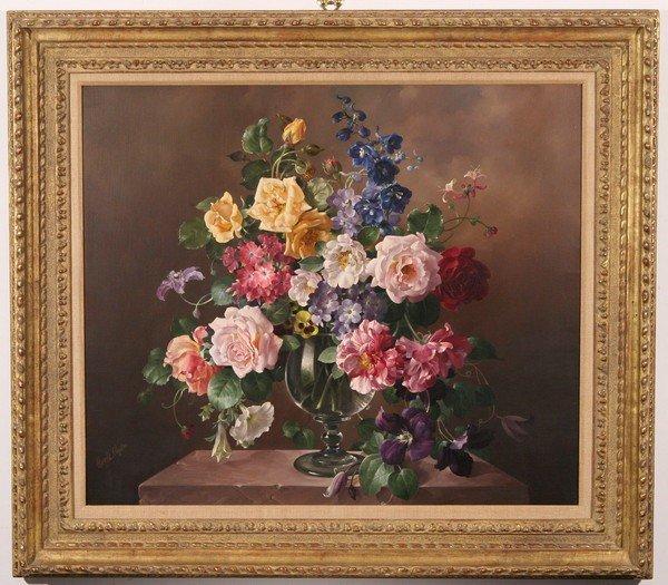 21: HAROLD CLAYTON British Oil Painting Still Life - 2