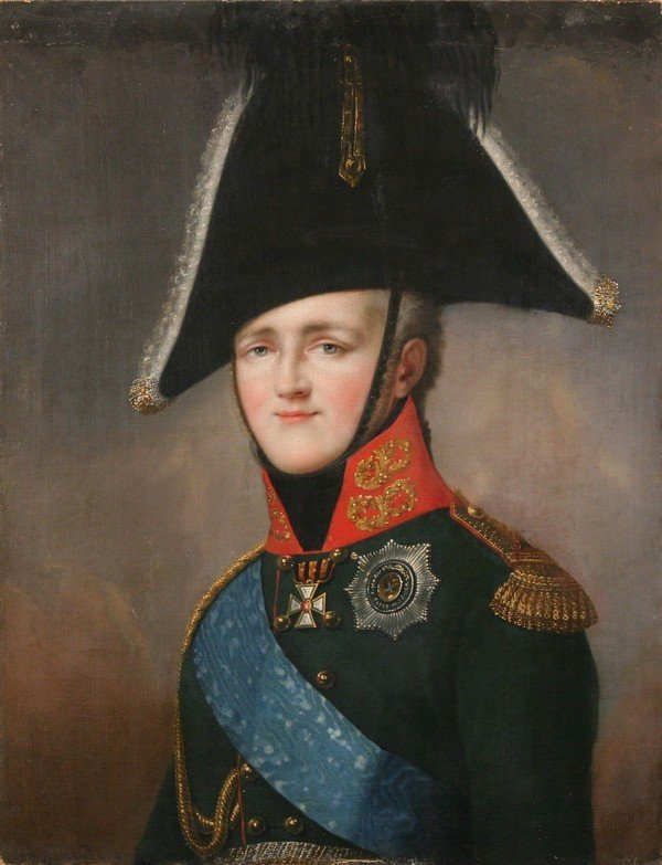 34: IMPERIAL Russian Painting Alexander I ex-Hermitage