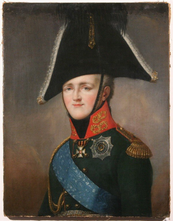 34: IMPERIAL Russian Painting Alexander I ex-Hermitage - 2