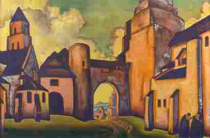 NIKOLAI ROERICH (RUSSIAN 1874-1947)