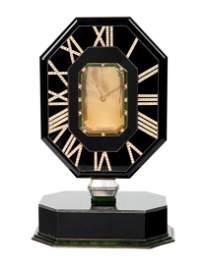 A CARTIER 'MYSTERY CLOCK', CASE NO. 201207, CIRCA 1970