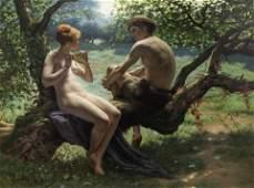 GASTON RENAULT (FRENCH D. 1883)   Daphnis et Chloe ,