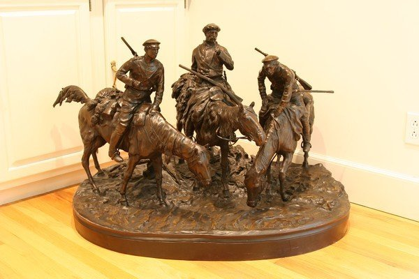 7: AFTER LANCERAY B1848 RUSSIAN BRONZE SOLDIERS