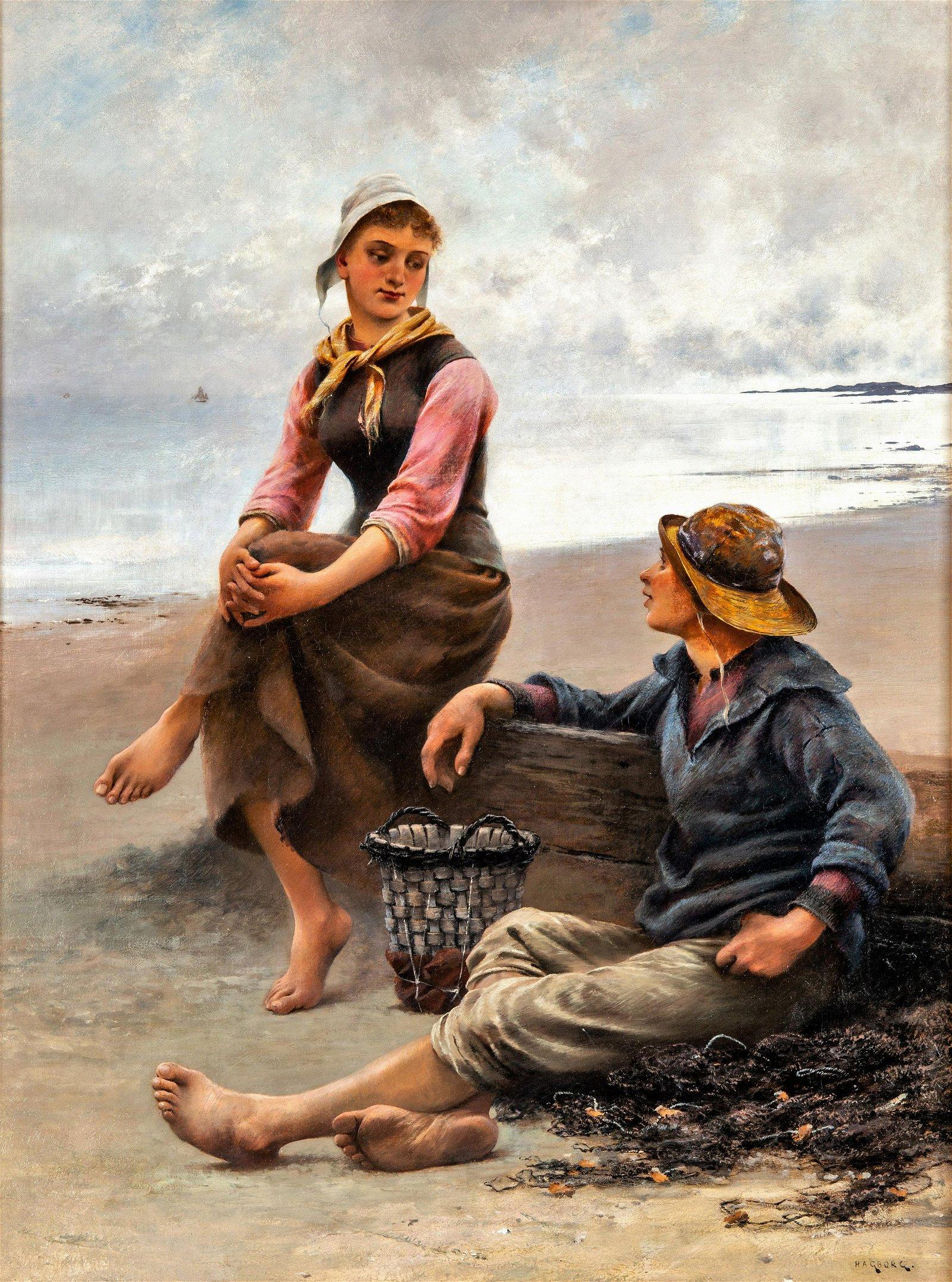 AUGUST HAGBORG (SWEDISH 1852-1921)