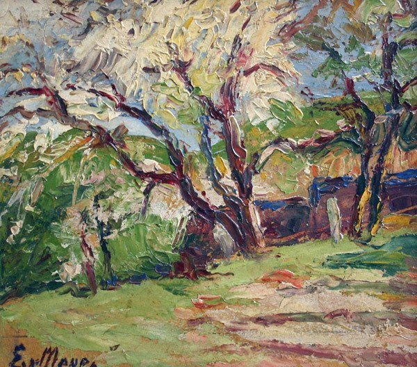 3: ERNEST MEYER b1863 Painting Connecticut American