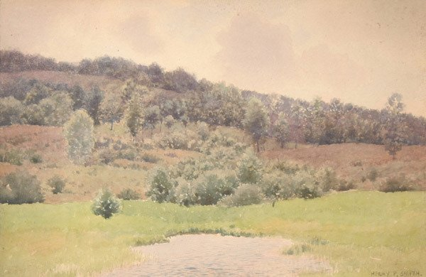 4: HENRY PEMBER SMITH b1854 Watercolor Painting