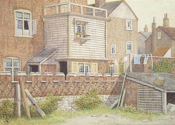 9: JAMES LAWSON STEWART b1889 Painting English