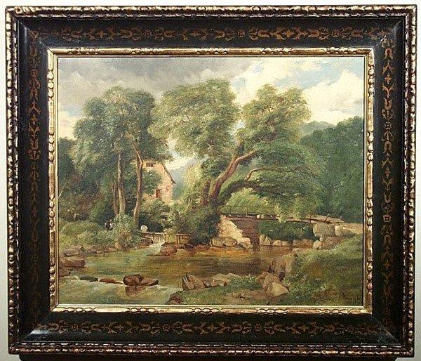 11: HENRY JUTSUM b1816 Victorian Landscape Painting