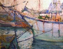 21 JANE PETERSON b1876 Painting Gloucester Cape Ann