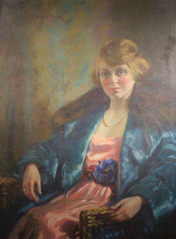 23: SUSAN RICKER KNOX b1874 Listed American Painting