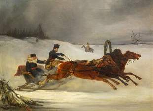NIKOLAI SVERCHKOV (RUSSIAN 1817-1898)