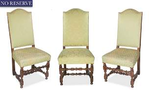 A SET OF THREE NORTHERN FRENCH OR FLEMISH LOUIS