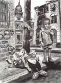20TH CENTURY CONTEMPORARY ARTIST, SIGNED STEEL