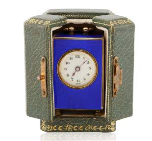 AN EARLY 20TH CENTURY VALME SWISS ARGENT MINIATURE
