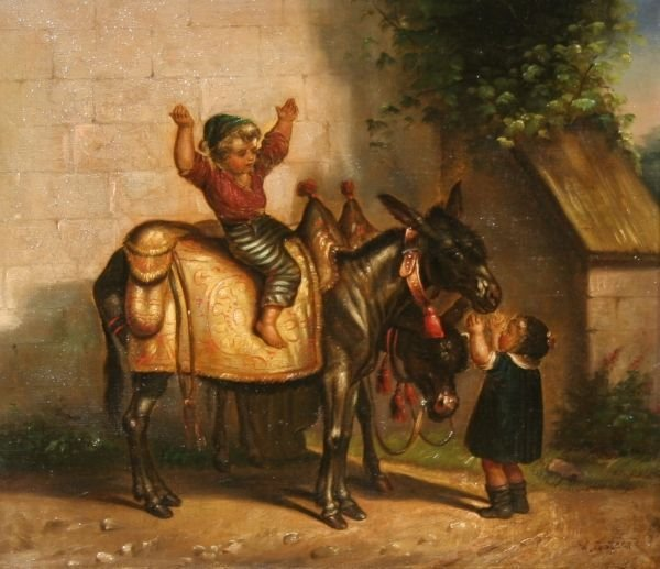 307: WALTER GODDARD 19th Century English Oil Painting