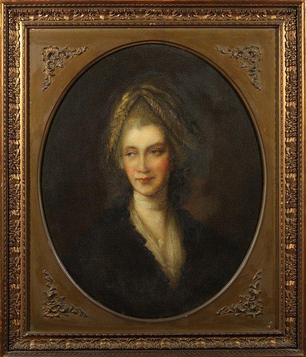 "4: GAINSBOROUGH DUPONT (BRITISH 1754-1794), ""Portrait o"