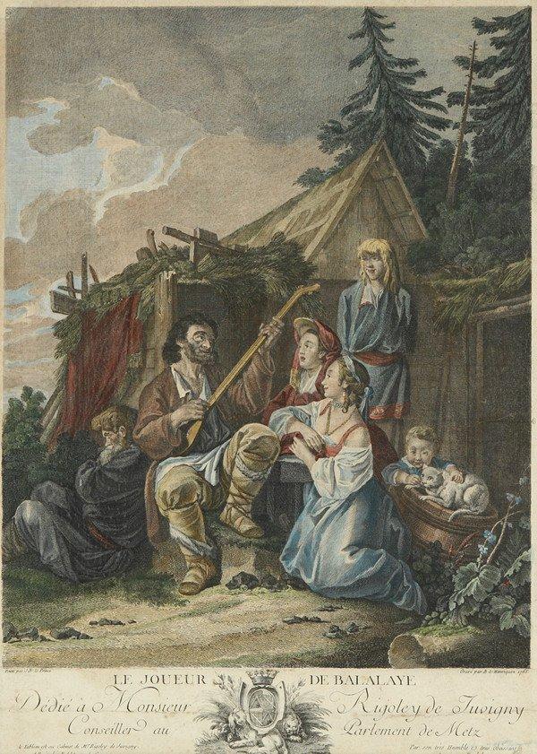 13: B.L. HENRIQUEZ AFTER JEAN BAPTISTE LE PRINCE (FRENC