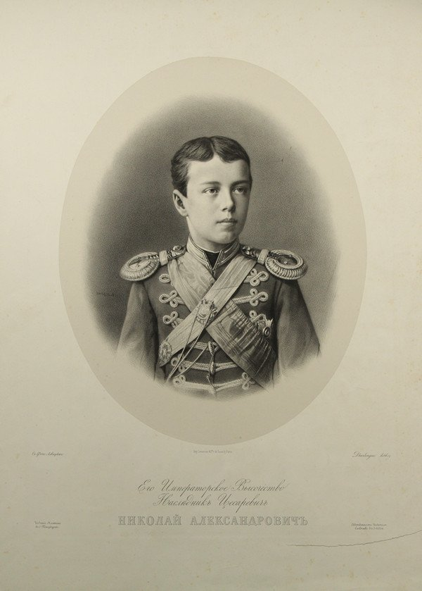 15: GUSTAVE D'HARLINGUE (FRENCH 1839-1902) AFTER SERGEI